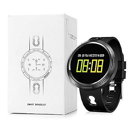 Nacatin Relojes Deportivos con Pulsómetro de Actividad, Smart Watch Reloj Inteligente Bluetooth 4.0, IP68