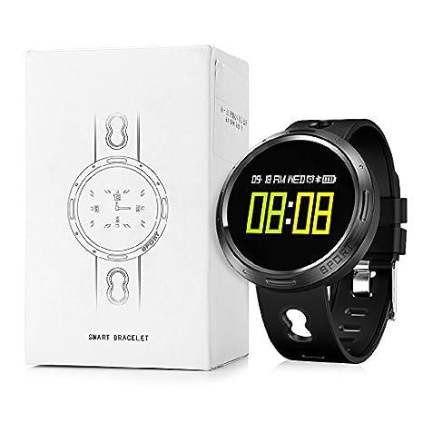 Nacatin Relojes Deportivos con Pulsómetro de Actividad, Smart Watch ...