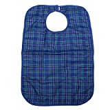 """Kicode Large Waterproof Adult Mealtime Bibs Disability Aid Dining Cook Protector 27.517.7"""""""