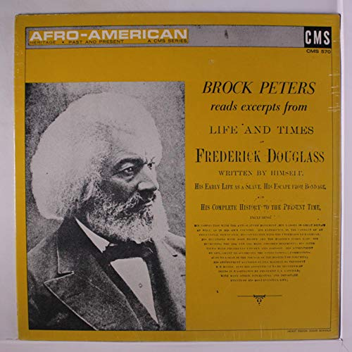 reads life and times of frederick douglas LP -  BROCK PETERS, Vinyl