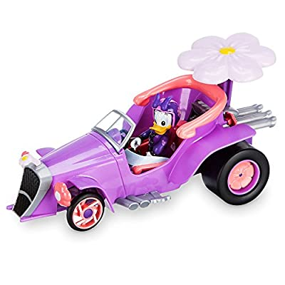 Disney Daisy Duck Transforming Pullback Racer - Mickey and The Roadster Racers: Toys & Games