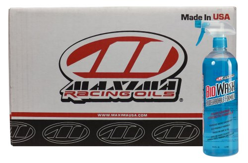 Maxima (CS80-85932-12PK) BIO Wash Biodegradable Motorcycle/ATV Cleaner - 32 oz., (Case of ()