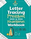 Letter Tracing Preschool & Kindergarten Workbook: Learning Letters 101 - Educational Handwriting...