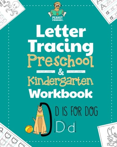 Letter Tracing Preschool & Kindergarten Workbook: Learning Letters 101