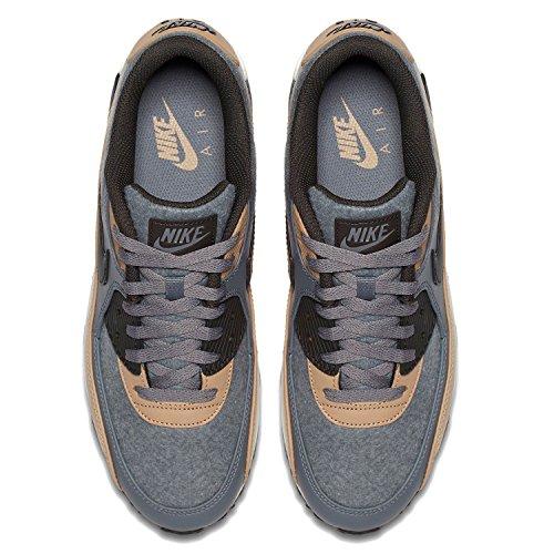 Nike Air Max 90 Mens Scarpe Da Corsa Freddo Grigio / Profondo Peltro-fungo