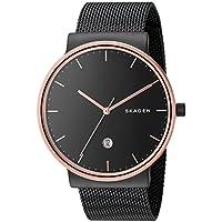 Skagen Men's SKW6296 Ancher Black Mesh Watch