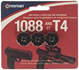 Crosman 8-Shot Rotary Clips, Fits T4 & 1088