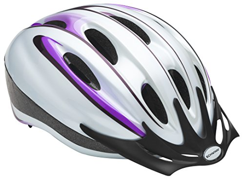 Schwinn Intercept Women's Microcell Helmet, White