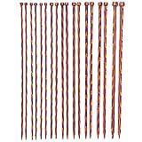 Knit Picks Wood Straight Knitting Needles Set 9-Pairs 14