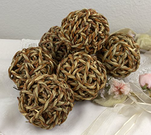 set-of-6-3-1-2-natural-twig-bowl-fillers-brown-tan-sphere-rattan-vase-filler