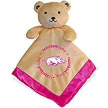 Baby Fanatic Security Bear Blanket, NCAA Arkansas Razorbacks Pink