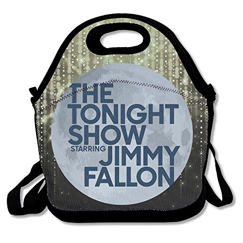 Jimmy Fallon Tonight Show Lunch Box Bag For Student Kids Adult Men Women Girl Boy,lunch Tote Lunch Holder With Adjustable Strap ,double Shoulder (Best Jimmy Fallon Musical Performances)