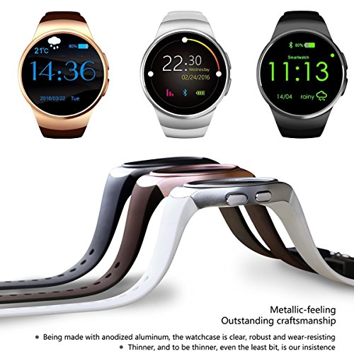 Rubility® KW18 SmartWatch IP67 Impermeable Antipolvo 1,3 ...
