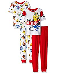 Pokemon Pikachu and Friends Gotta Catch 'Em All Pajamas for boys