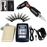 Gracefulvara Tattoo Machine Set Body Art Eyebrow Tattoo Kit