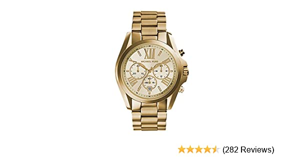 Amazon.com  Michael Kors Women s Bradshaw Gold-Tone Watch MK5605  Michael  Kors  Watches 07a51c6d89