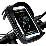 LEMEGO Bike Bag Cycling Top Tube Handlebar Holder Frame Pannier Waterproof Pouch Bicycle Phone Mount