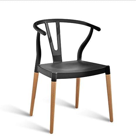 Amazon.com: FENPING Sillas de comedor asiento silla vaca ...