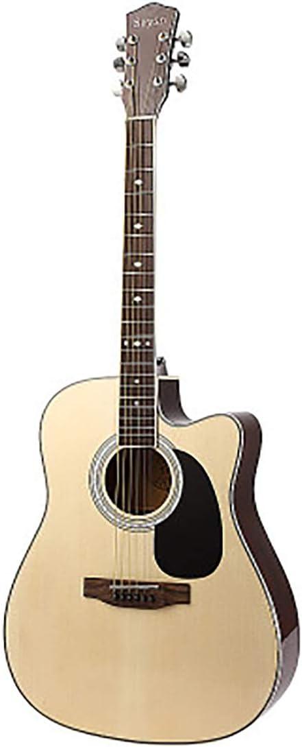 Guitarra Acústica 41 Pulgadas Práctica Guitarra Principiante ...