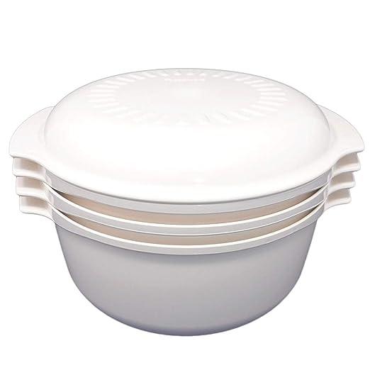 Juego de 4 piezas - Vintage Almond Tupperware plástico duro ...