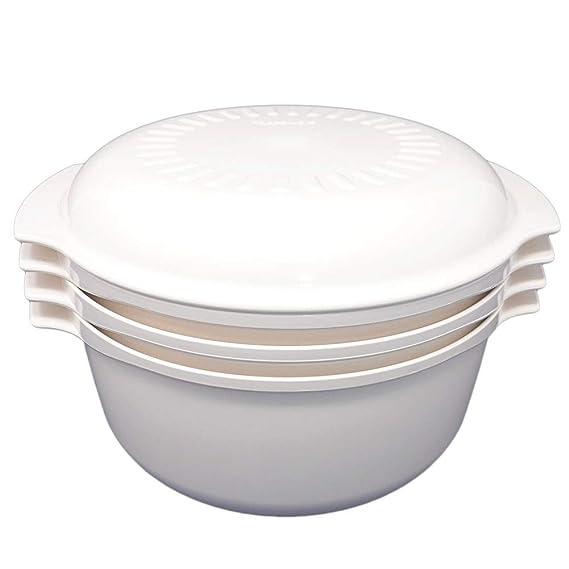 Juego de 4 piezas – Vintage Almond Tupperware plástico duro ...