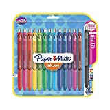Paper Mate InkJoy Gel Retractable Pen, 0.7mm, Ink, Pack of 35, Assorted (1951636) (Pack of 35)
