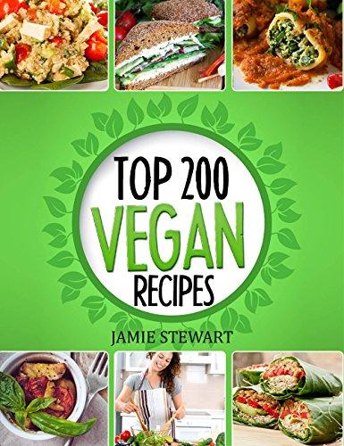 Vegan Recipes Cookbook Top 200 ebook