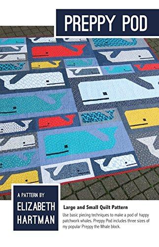 Preppy Pod Quilt Pattern by Elizabeth Hartman 75