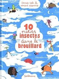 10 petits insectes dans le brouillard par Davide Cali