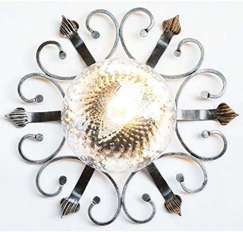 Plafón de hierro forjado para exterior, jardín, cenador ...