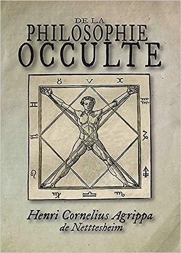 Livre ésotérique et occulte : de la philosophie Occulte de Agrippa