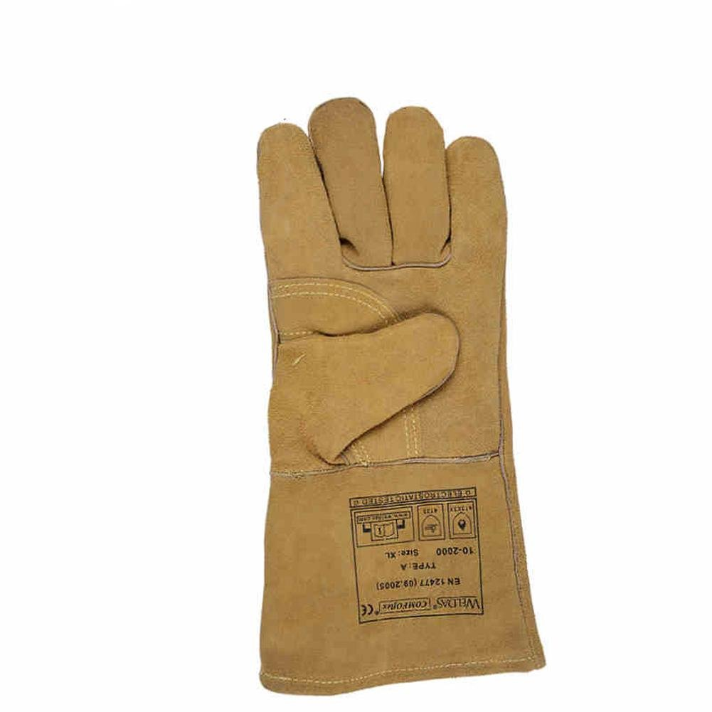General high temperature 250 degrees heat insulation cutting welding gloves welding fire retardant soft and comfortable labor protection products by LIXIANG (Image #2)