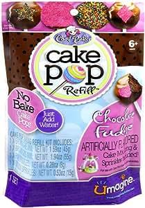 Cool Baker Cake Pop Maker Refill Chocolate Fudge