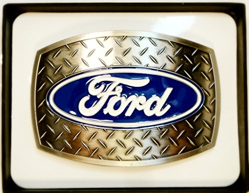 FORD Die-Cast HEAVY METAL Design Belt Buckle