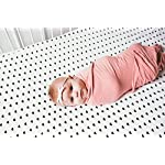 Large-Premium-Knit-Baby-Swaddle-Receiving-Pink-BlanketDarling-by-Copper-Pearl