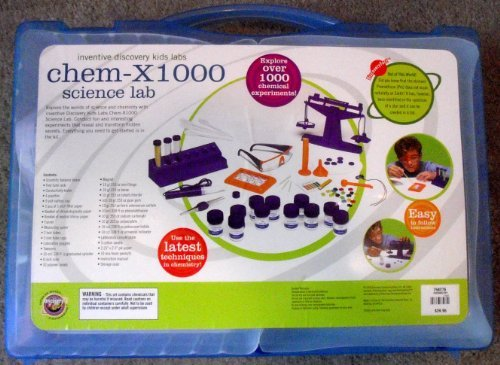 Chem-X1000 Science Lab: Explore Over 1000 Chemical Experiments! ()