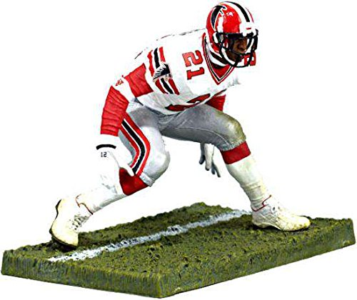 cc2f3e39 Amazon.com: McFarlane Toys NFL Sports Picks 2006 Collectors Club Exclusive  Action Figure Deion Sanders (Atlanta Falcons) White Jersey: Toys & Games