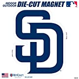 "Stockdale San Diego Padres SD 6"" Logo MAGNET Die Cut Vinyl Auto Home Heavy Duty Baseball"