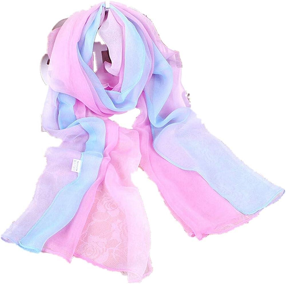 Fudule Women Silk Scarfs...