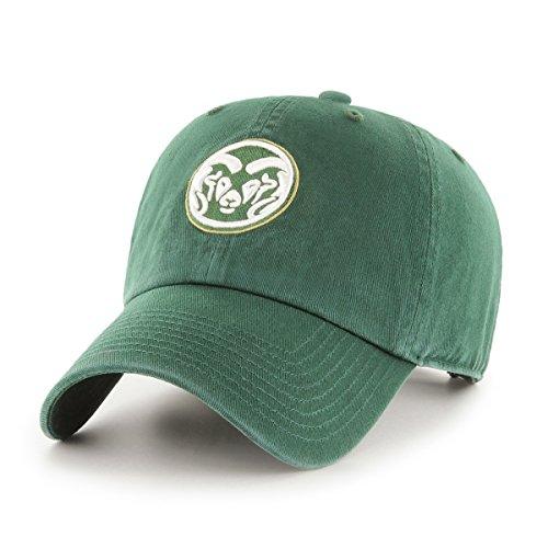 OTS NCAA Colorado State Rams Women's Challenger Adjustable Hat, Dark Green, Women's (Colorado Rams State Logo)