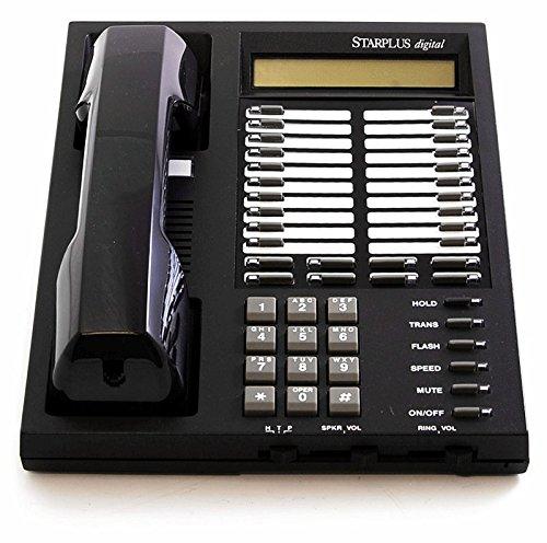 Vodavi Starplus Digital SP1414-71 Executive Key Display Phone Black   Open Box -