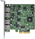 HighPoint RocketU 4-Port USB 3.0 PCI-Express 2.0 x4 HBA Controller RocketU 1144C