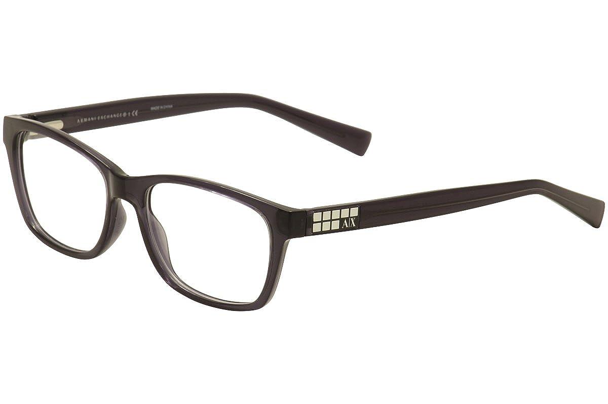 Exchange Armani 0AX3006 Optical Full Rim Rectangular Womens Sunglasses Armani Exchange Model No : AX3006