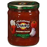 Tostitos All Natural Chunky Medium Salsa 15.5 Oz.
