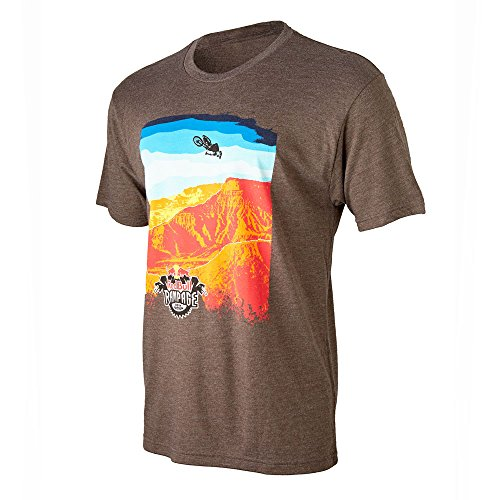 (Red Bull Rampage Course Tee Brown Medium)