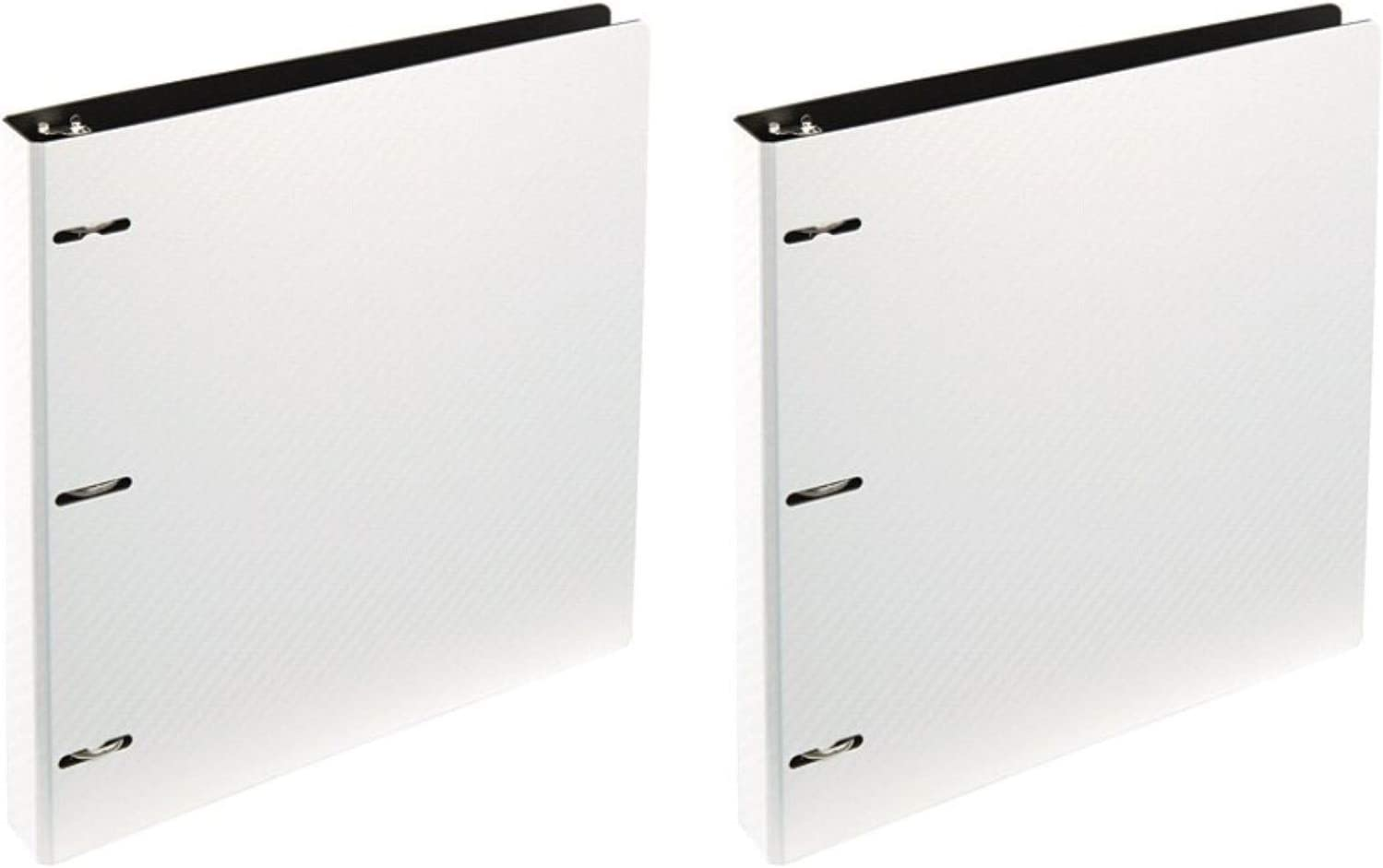 """Office Depot (TM) Letter-Sized Binder, 1"""" Ring, Combo Set of Two, Color: White"""