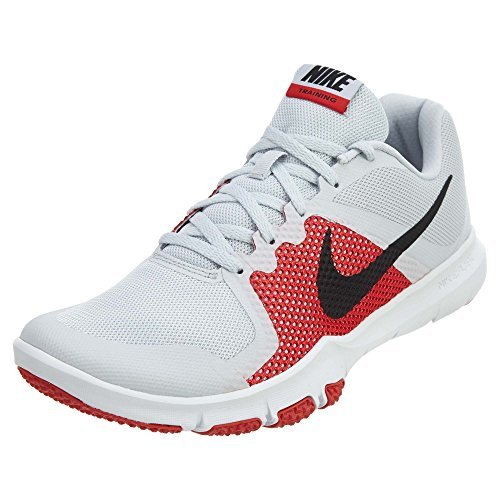 d1a105d21584 NIKE Flex Control Pure Platinum Black University Red White Mens ...