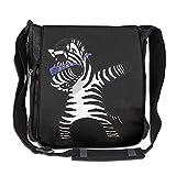 Zebra Hip Hop Fashion Print Diagonal Single Shoulder Bag