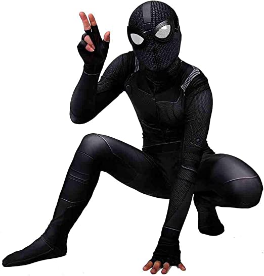 FHTD Traje de Batalla de Spider-Man, Disfraz de Disfraz de ...