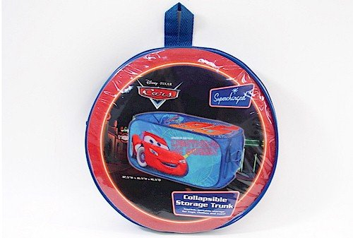 Disney Pixar Cars Blue & Red Collapsible Storage Trunk by Idea Nuova